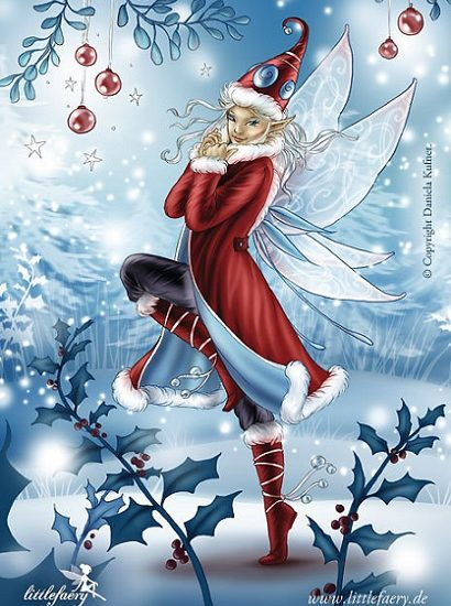 Fée de Noël